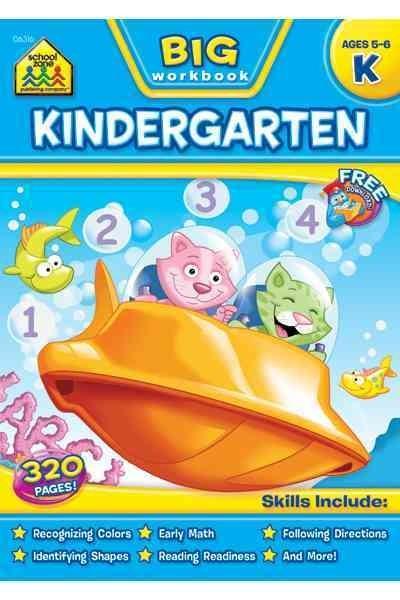 Big Kindergarten Workbook (Paperback)