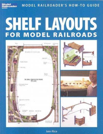 Shelf Layouts for Model Railroads (Paperback)