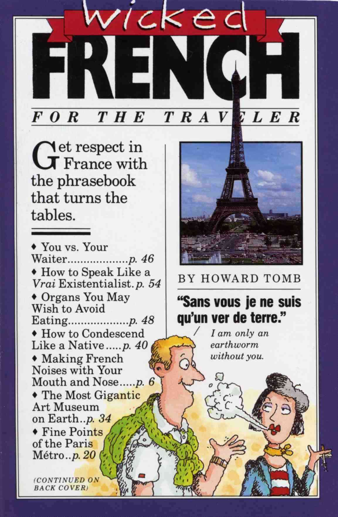 Wicked French/for the Traveler (Paperback)