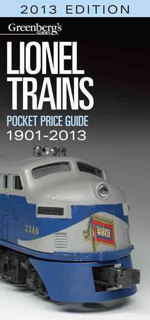 Lionel Trains Pocket Price Guide 2013 (Paperback)