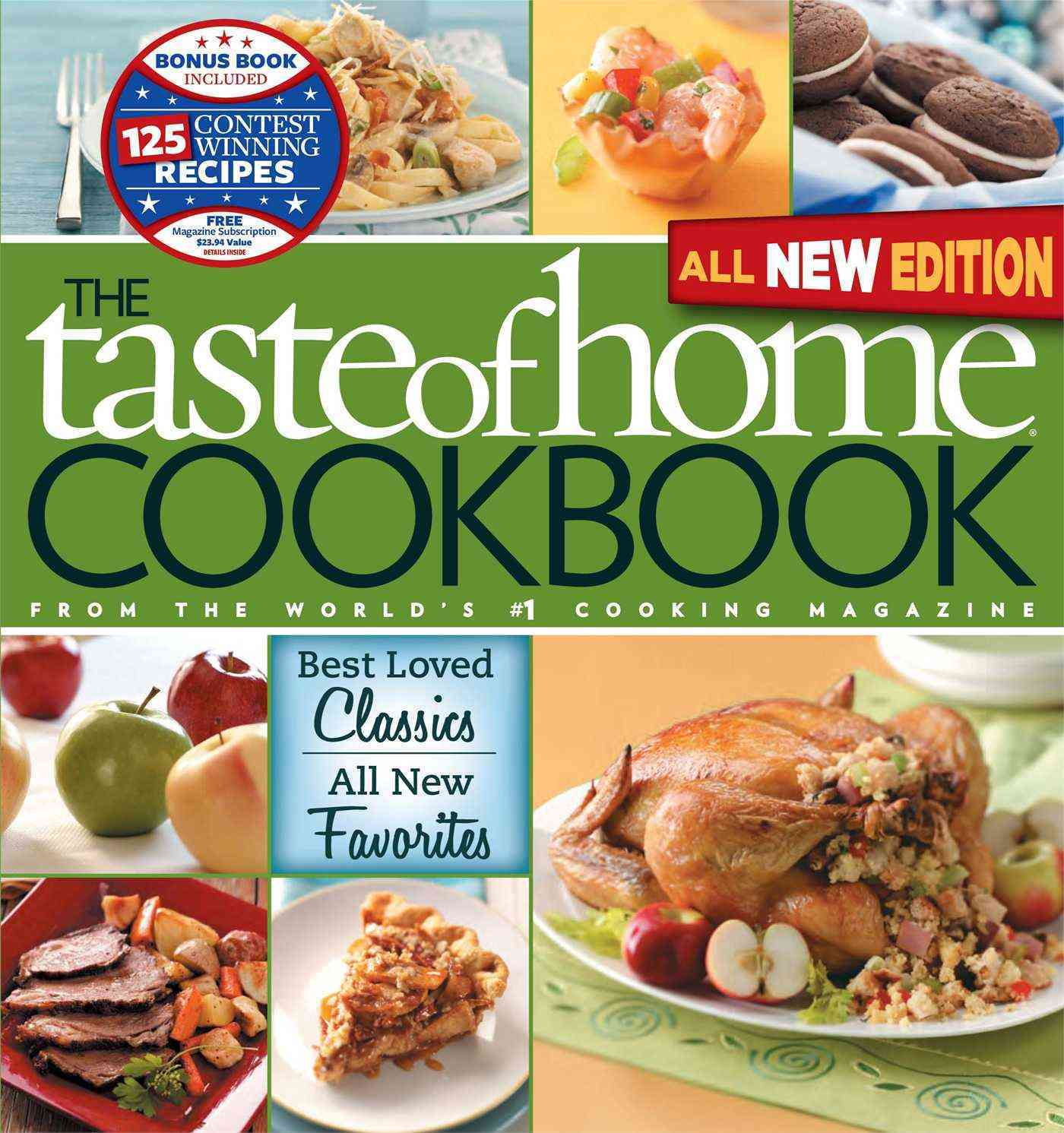 The Taste of Home Cookbook: Best Loved Classics, All New Favorites (Loose-leaf) - Thumbnail 0