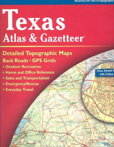 Texas Atlas and Gazetteer (Paperback)