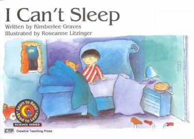 I Can't Sleep (Paperback)
