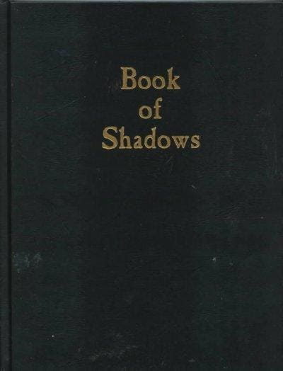 Book of Shadows: Blank Book (Hardcover)