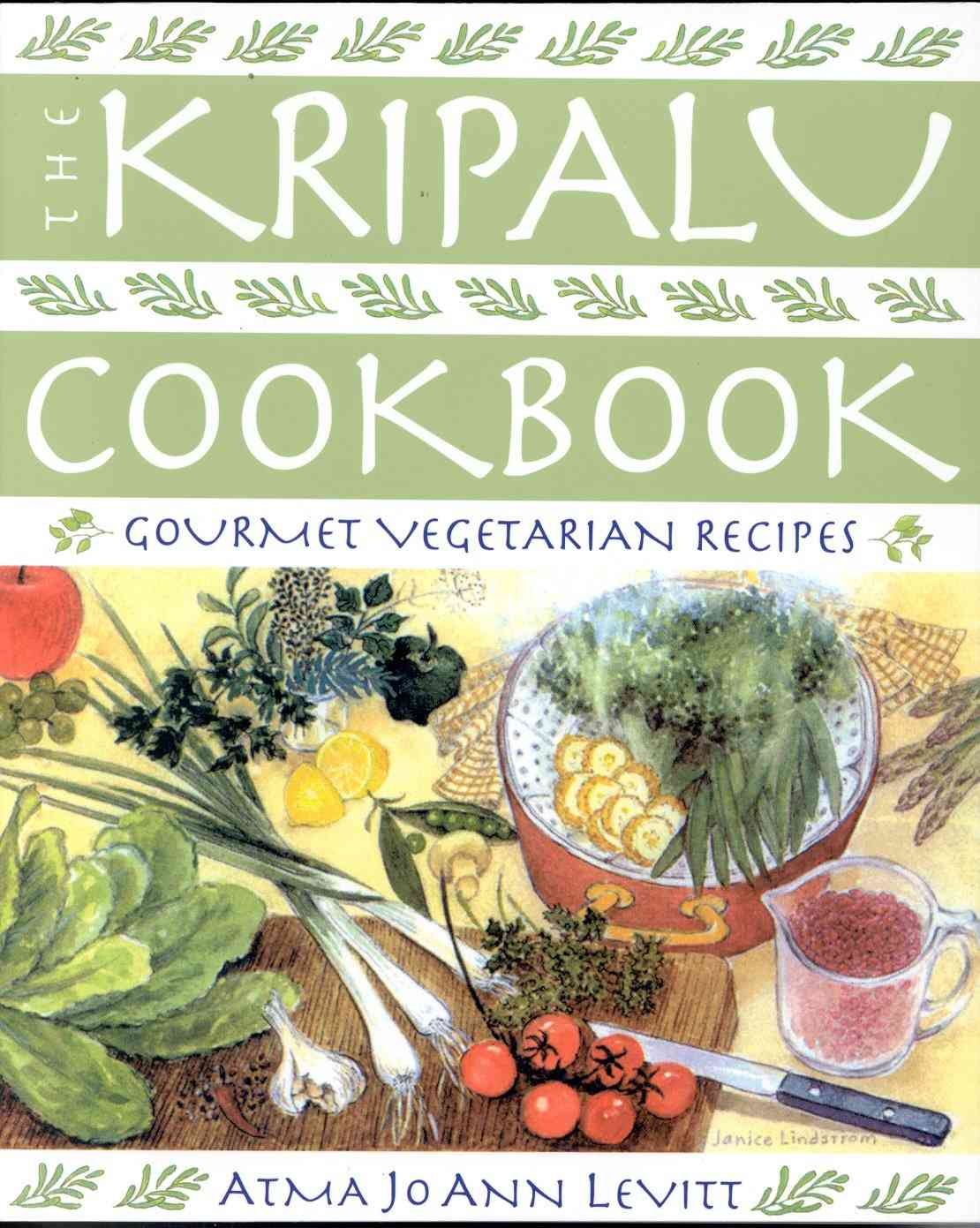 Kripalu Cookbook: Gourmet Vegetarian Recipes (Paperback)