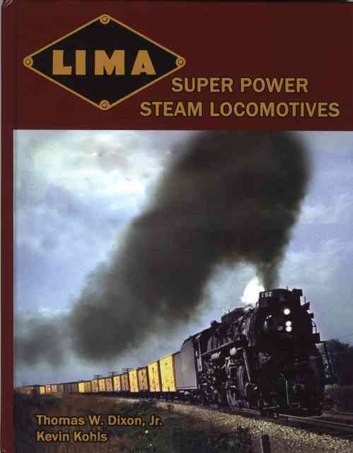 Lima Super Power Steam Locomotives (Hardcover) - Thumbnail 0