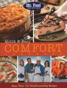 Mr. Food Quick & Easy Comfort Cookbook (Paperback)