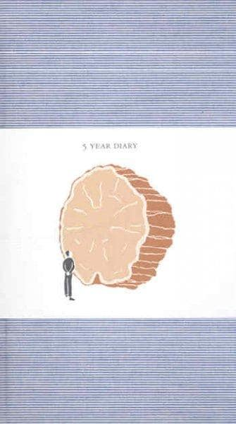 5 Year Diary: Blue Cover (Diary)
