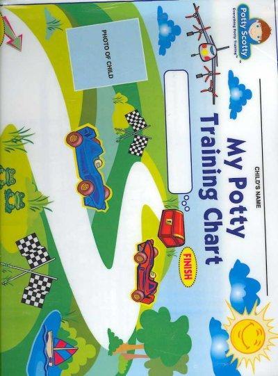 Potty Training Chart & Stickers (Paperback)