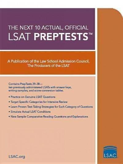 The Next 10 Actual, Official LSAT PrepTests (Paperback)