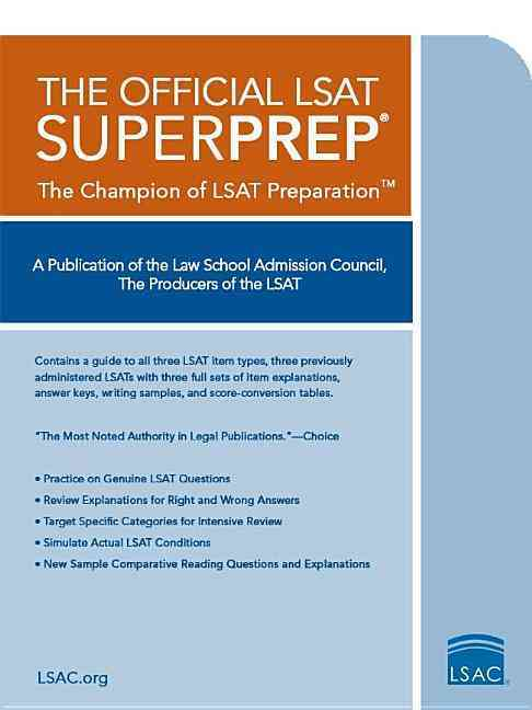 The Official LSAT SuperPrep (Paperback)