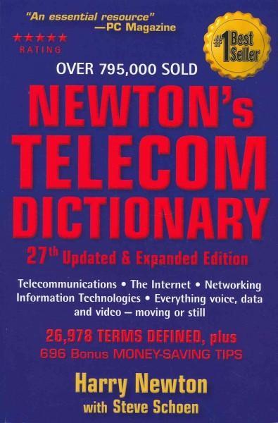 Newton's Telecom Dictionary (Paperback)