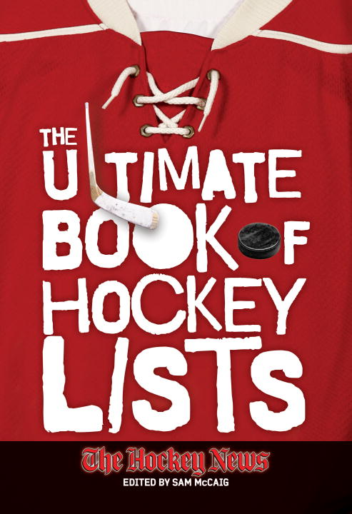 The Ultimate Book of Hockey Lists (Paperback)