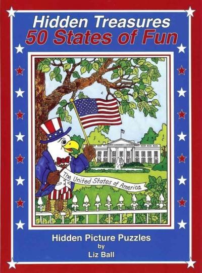 50 States of Fun - Hidden Treasures: Hidden Picture Puzzles (Paperback) - Thumbnail 0