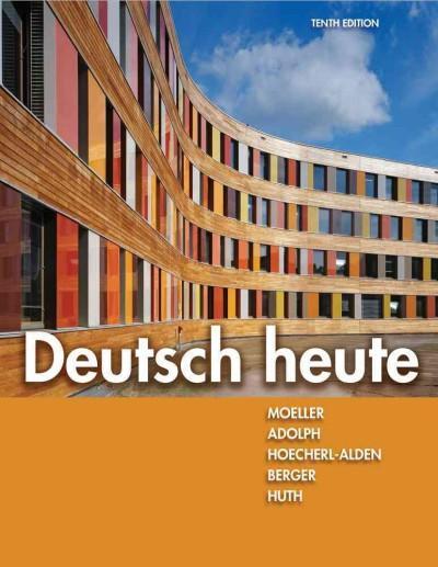 Deutsch Heute: Introductory German (Hardcover)