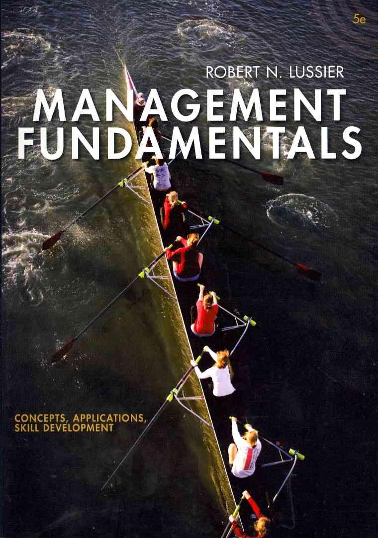 Management Fundamentals: Concepts, Applications, Skill Development (Paperback)