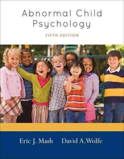 Abnormal Child Psychology (Hardcover)