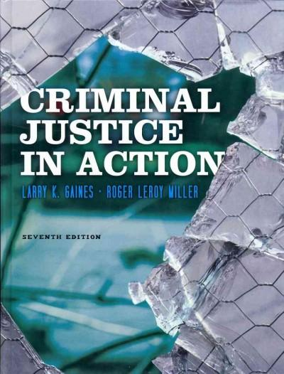 Criminal Justice in Action (Hardcover)