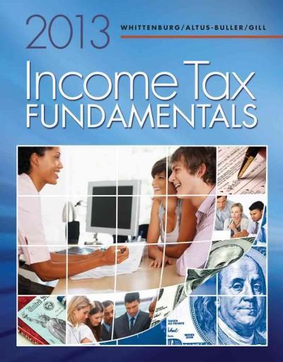 Income Tax Fundamentals 2013