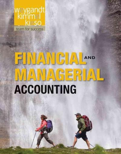 Financial and Managerial Accounting (Hardcover)