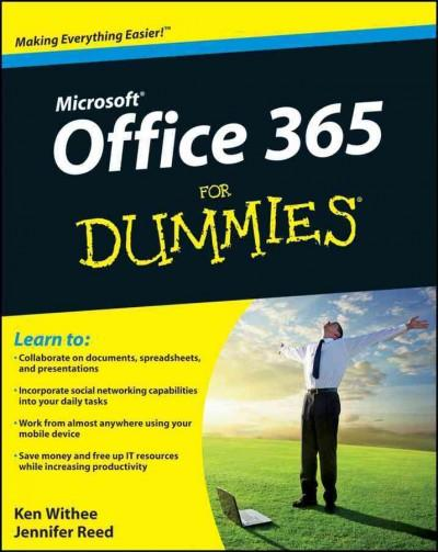 Microsoft Office 365 for Dummies (Paperback)