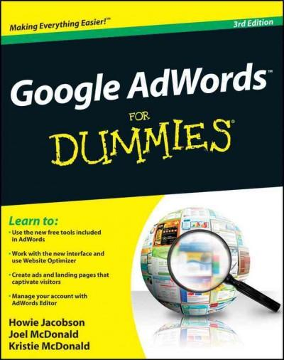 Google Adwords for Dummies (Paperback)