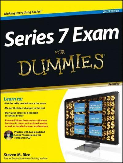 Series 7 Exam for Dummies: Premier