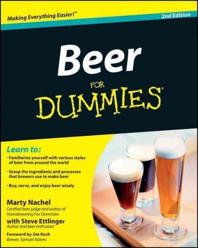 Beer For Dummies (Paperback)