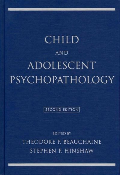 Child and Adolescent Psychopathology (Hardcover)
