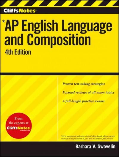 CliffsNotes AP English Language and Composition (Paperback)