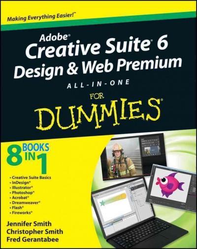 Adobe Creative Suite 6 Design & Web Premium All-in-One for Dummies (Paperback)