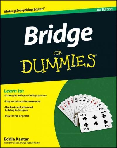 Bridge for Dummies (Paperback)
