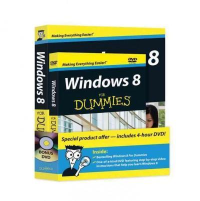 Windows 8 for Dummies + DVD (Paperback)