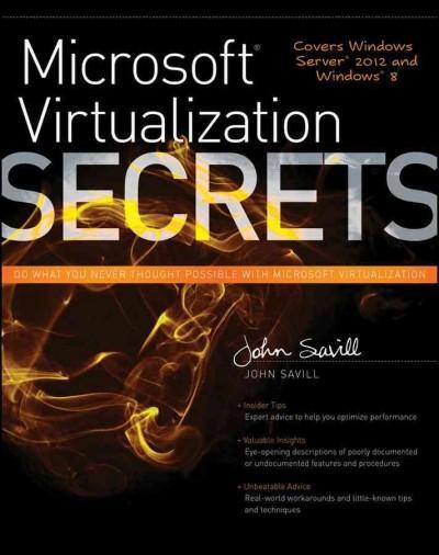 Microsoft Virtualization Secrets (Paperback)