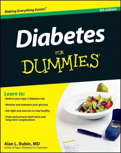 Diabetes for Dummies (Paperback)