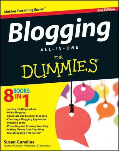 Blogging All-In-One for Dummies (Paperback)