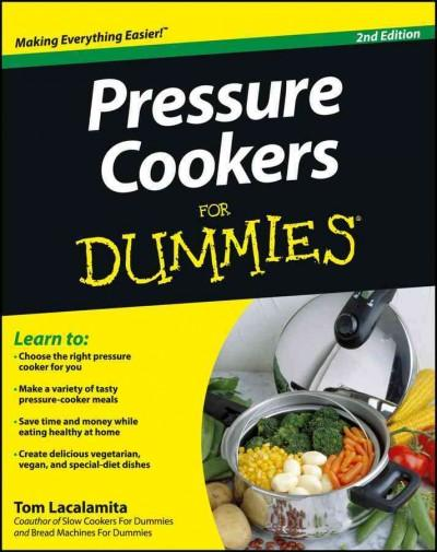 Pressure Cookers for Dummies (Paperback) - Thumbnail 0