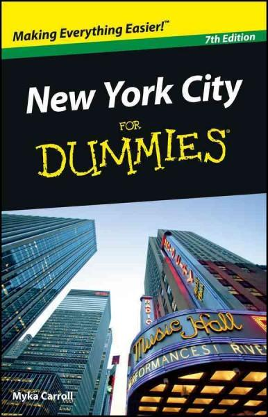 New York City for Dummies (Paperback)