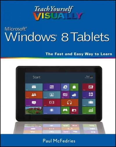 Teach Yourself Visually Windows 8 Tablets (Paperback)