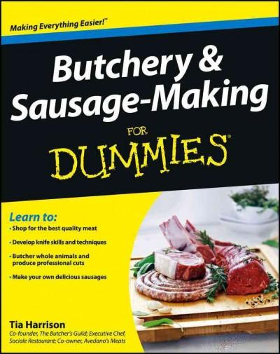 Butchery & Sausage-Making for Dummies (Paperback)