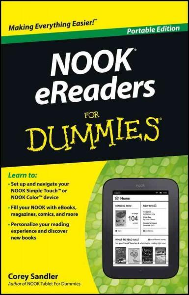 NOOK eReaders For Dummies: Portable Edition (Paperback)