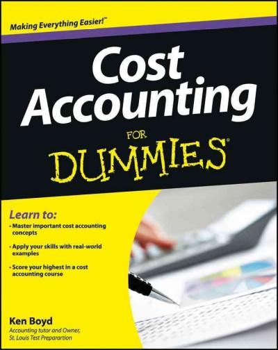 Cost Accounting for Dummies (Paperback)