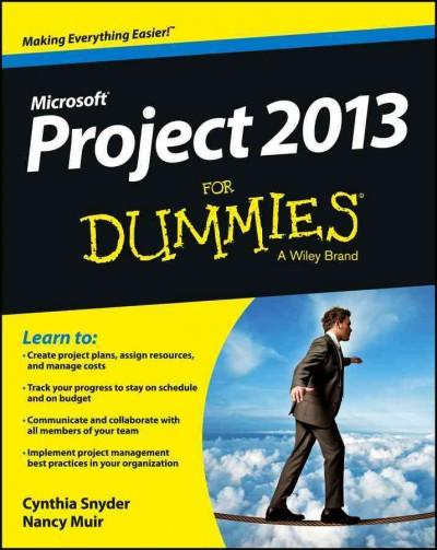 Project 2013 for Dummies (Paperback)