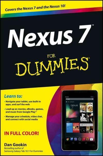 Nexus 7 for Dummies (Paperback)