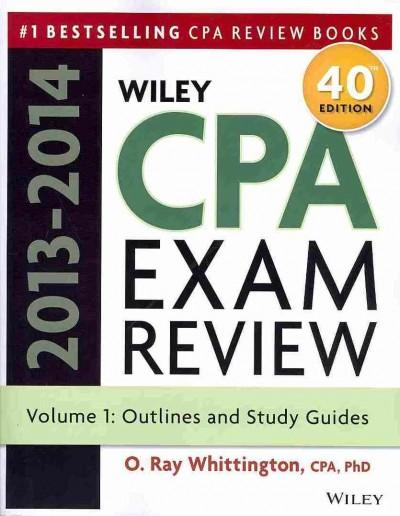 Wiley CPA Exam Review 2013-2014 (Paperback)