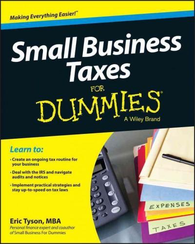 Small Business Taxes for Dummies (Paperback)