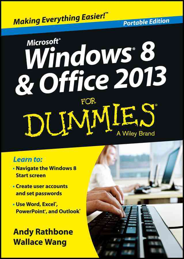 Windows 8 & Office 2013 for Dummies: Portable Edition (Paperback)
