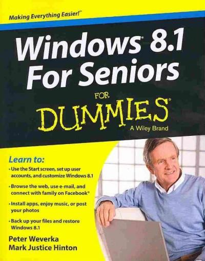 Windows 8.1 For Seniors For Dummies (Paperback)