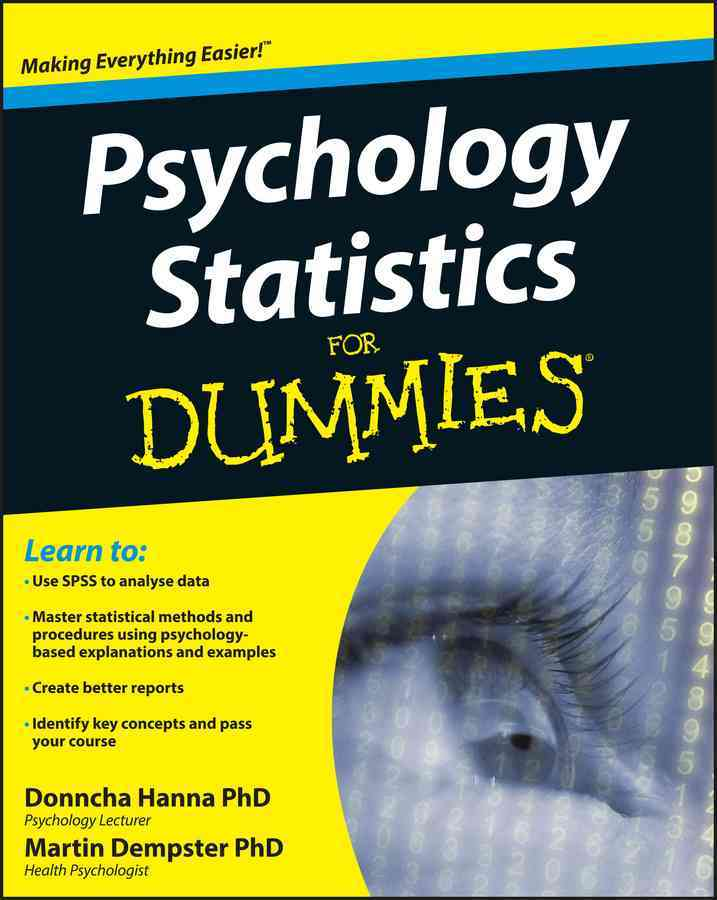 Psychology Statistics for Dummies (Paperback)