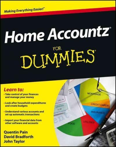 Home Accountz for Dummies (Paperback)